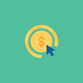 istock Pay Per Click Icon 1309383470