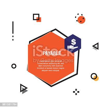Payable Infographic Icon