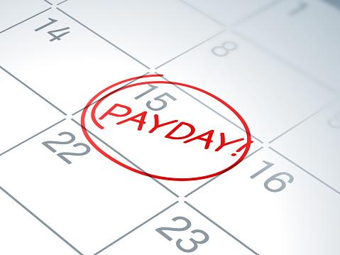 Payday Calendar Reminder