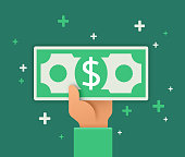 istock Paying or Receiving Cash 1218981849