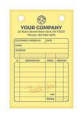 istock Payment Invoice 1247875591