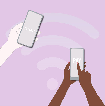 Payments online with the smartphone