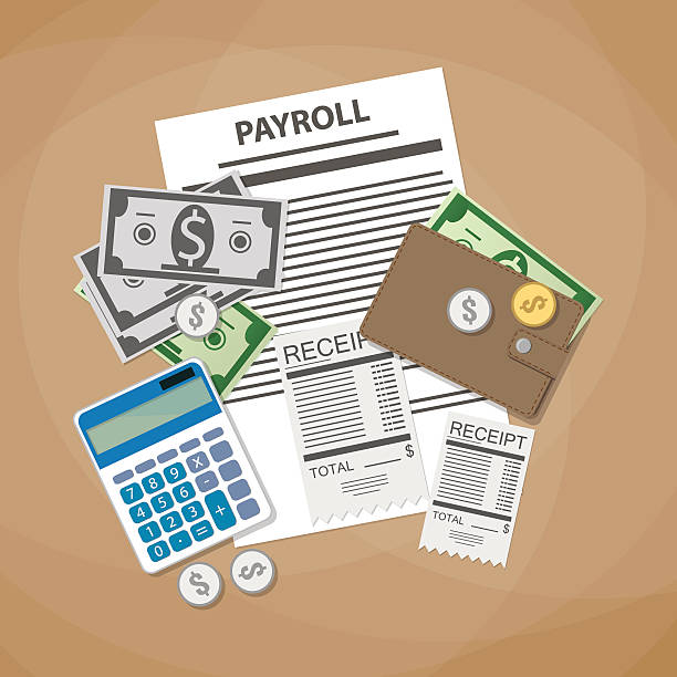 Best Paycheck Illustrations Royalty Free Vector Graphics Amp Clip Art Istock