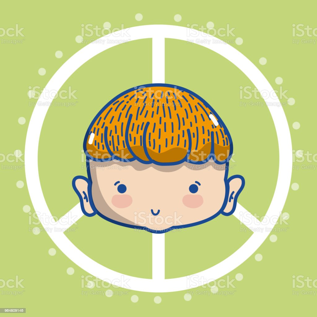 Peace and childrens cartoon concept royalty-free peace and childrens cartoon concept stock vector art & more images of above