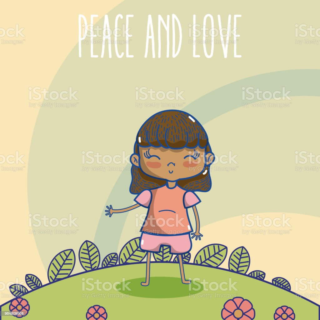 Peace and love cartoons royalty-free peace and love cartoons stock vector art & more images of baby - human age