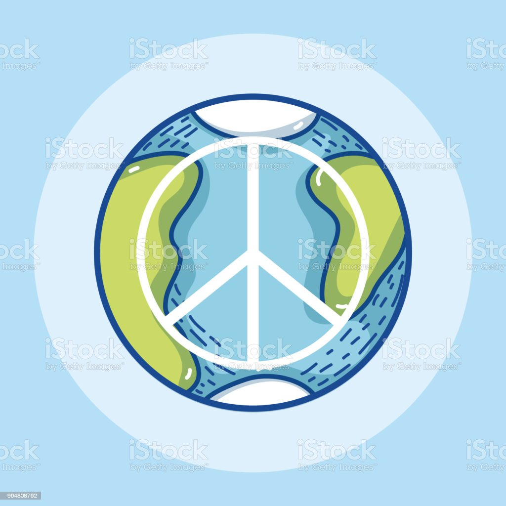 Peace and love symbol royalty-free peace and love symbol stock vector art & more images of above