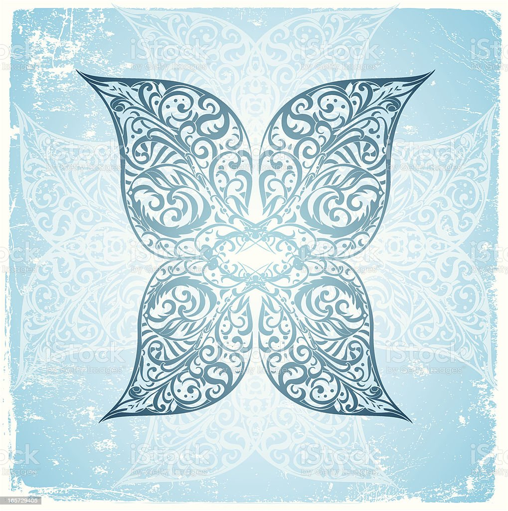 peace butterfly royalty-free stock vector art