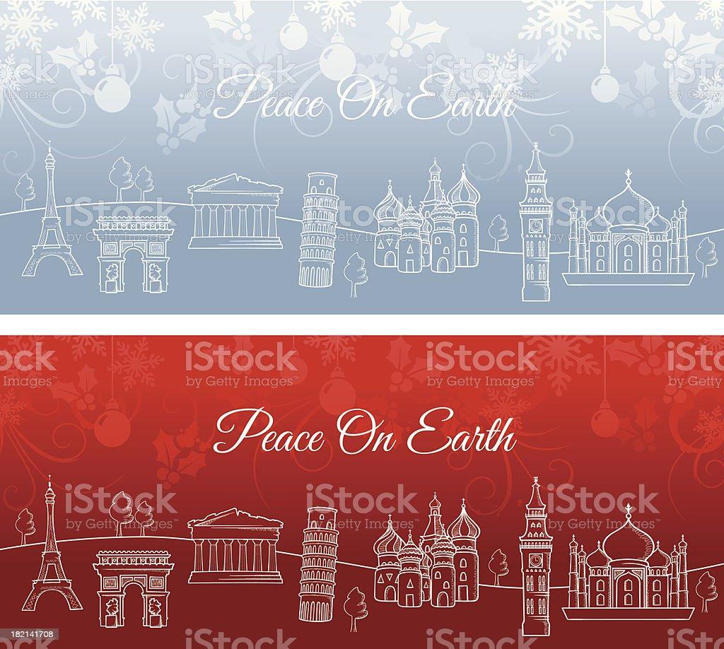 Peace On Earth royalty-free stock vector art