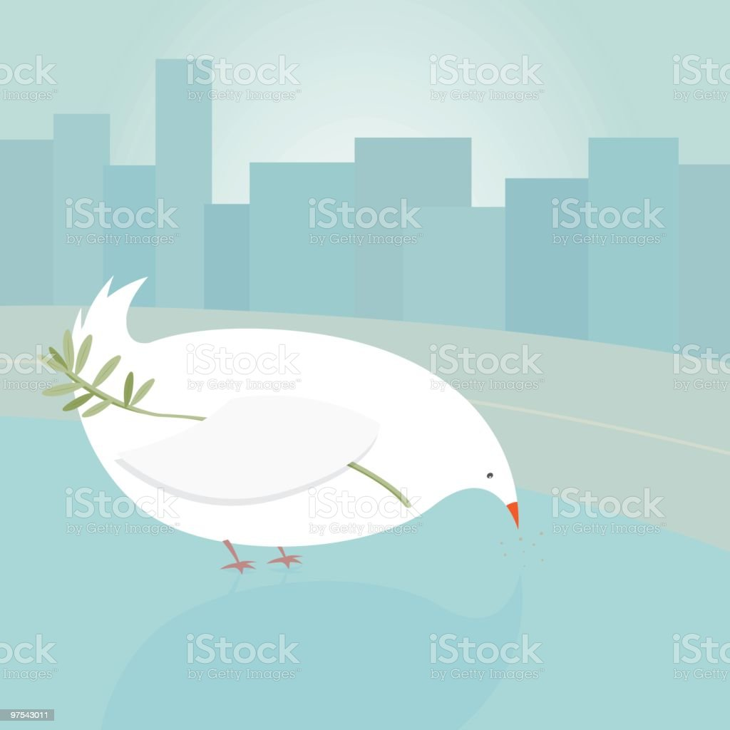 Peace pigeon royalty-free peace pigeon stock vector art & more images of animal body part
