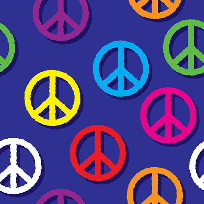 Peace Sign Pattern