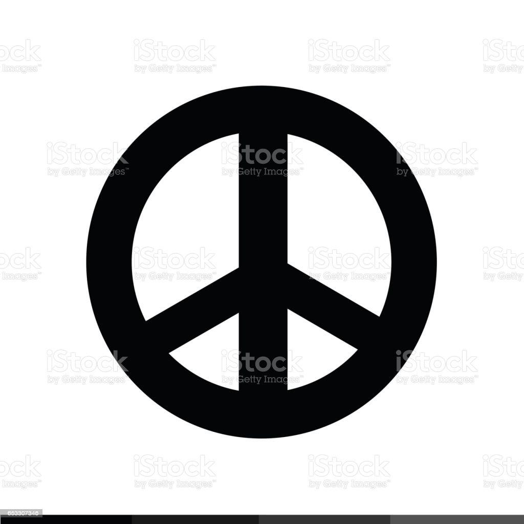 Vetores De Icone Do Simbolo De Paz Desenho Ilustracao E Mais