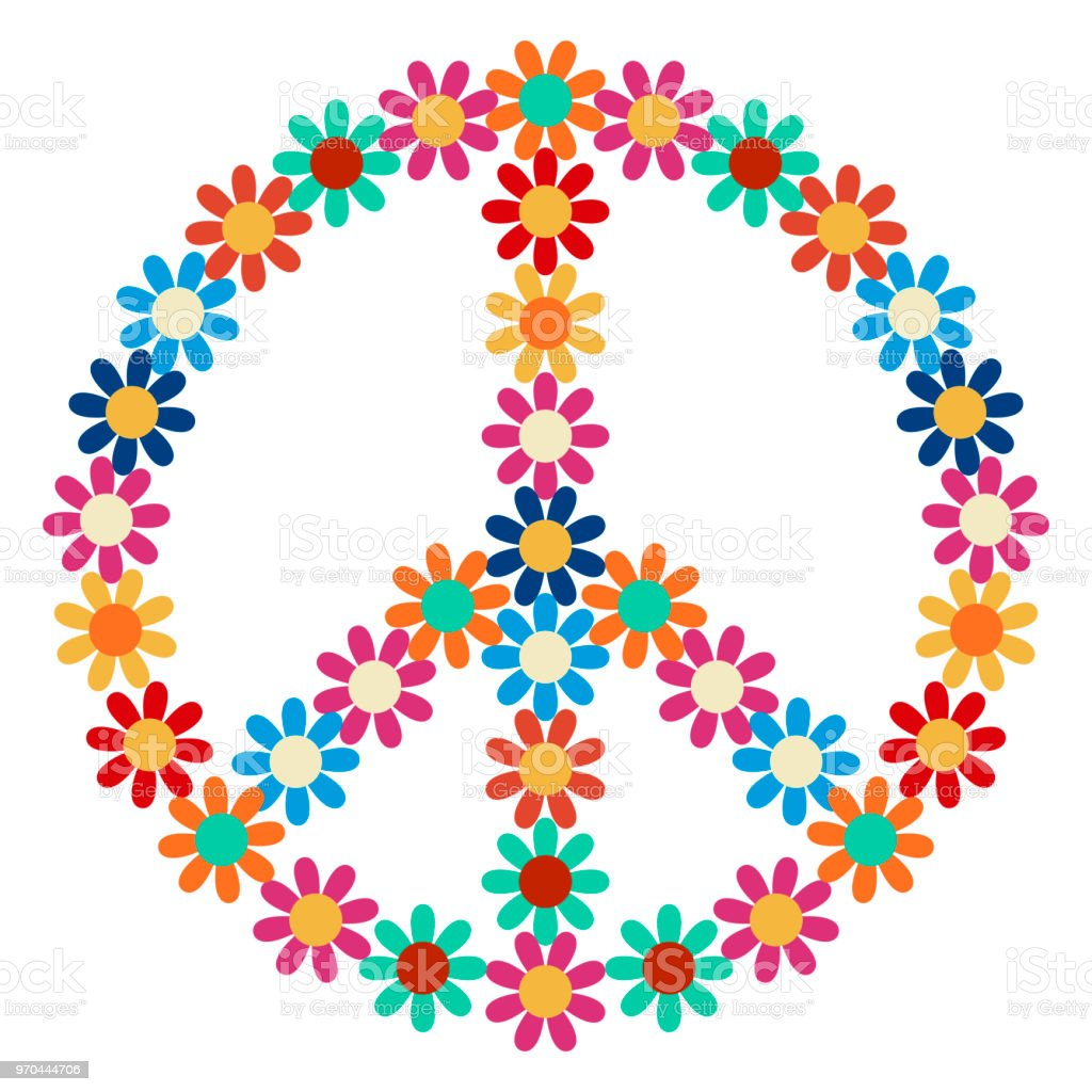 Peace Symbol Icon Stock Vector Art More Images Of Abstract
