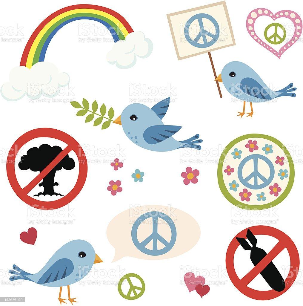 Peace! royalty-free stock vector art