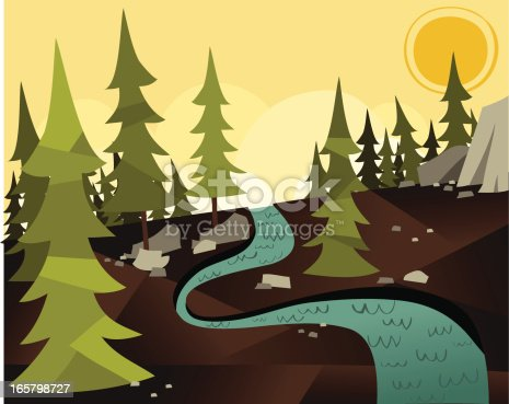 There's nothing quite so peaceful as the gentle trickle of a north american stream. Until you are mauled by a bear.