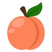 istock Peach Illustration 963346938