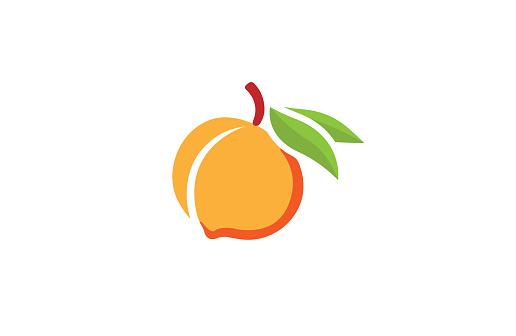 Peach Orange Logo