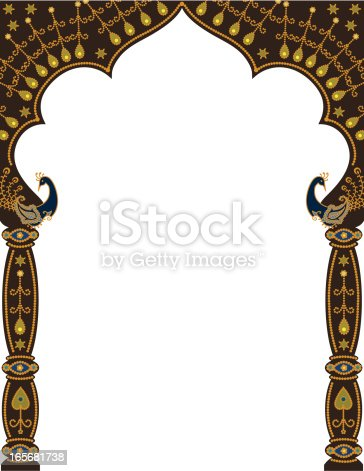 istock Peacock Arch 165681738