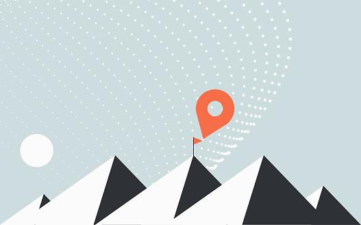Peak mountain location