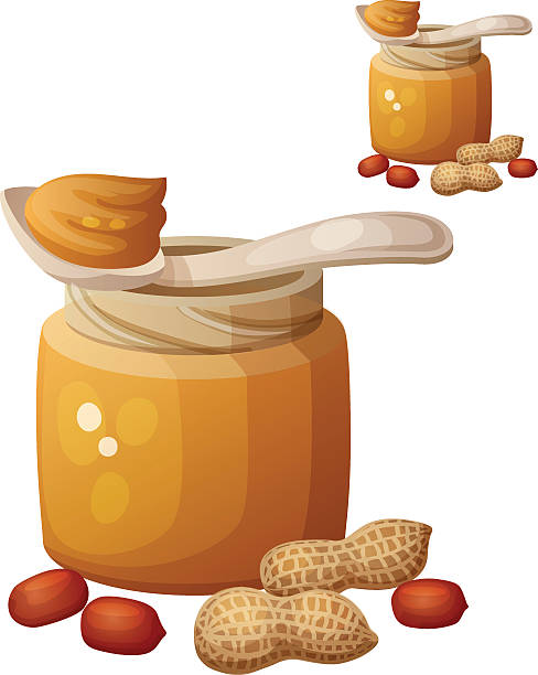 Royalty Free Peanut Butter Clip Art, Vector Images ...
