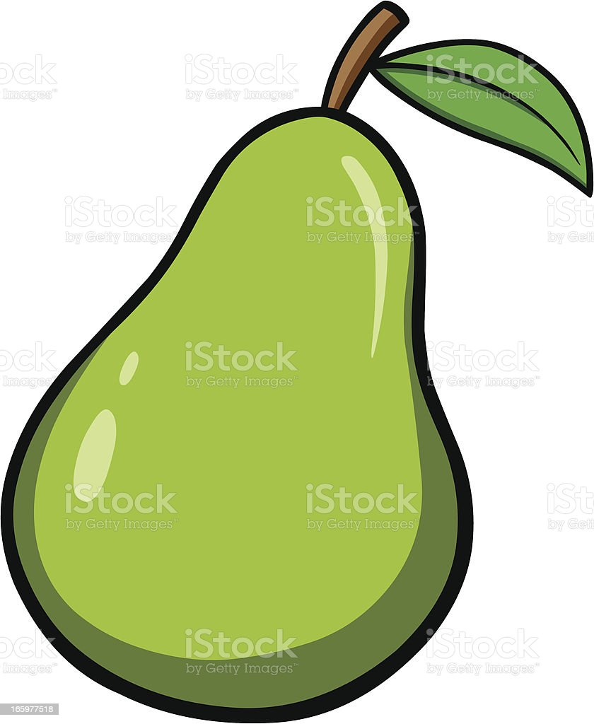 royalty free bartlett pear clip art vector images illustrations rh istockphoto com spear clipart pearl clipart
