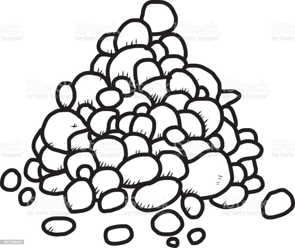 royalty free pile of rocks clip art vector images illustrations rh istockphoto com rocks clipart free rock clipart desert stone
