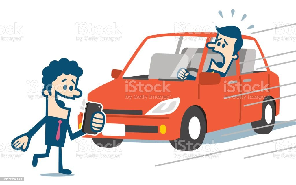 pedestrian accident stock vector art more images of accidents and rh istockphoto com car crash animated clipart car crash clipart