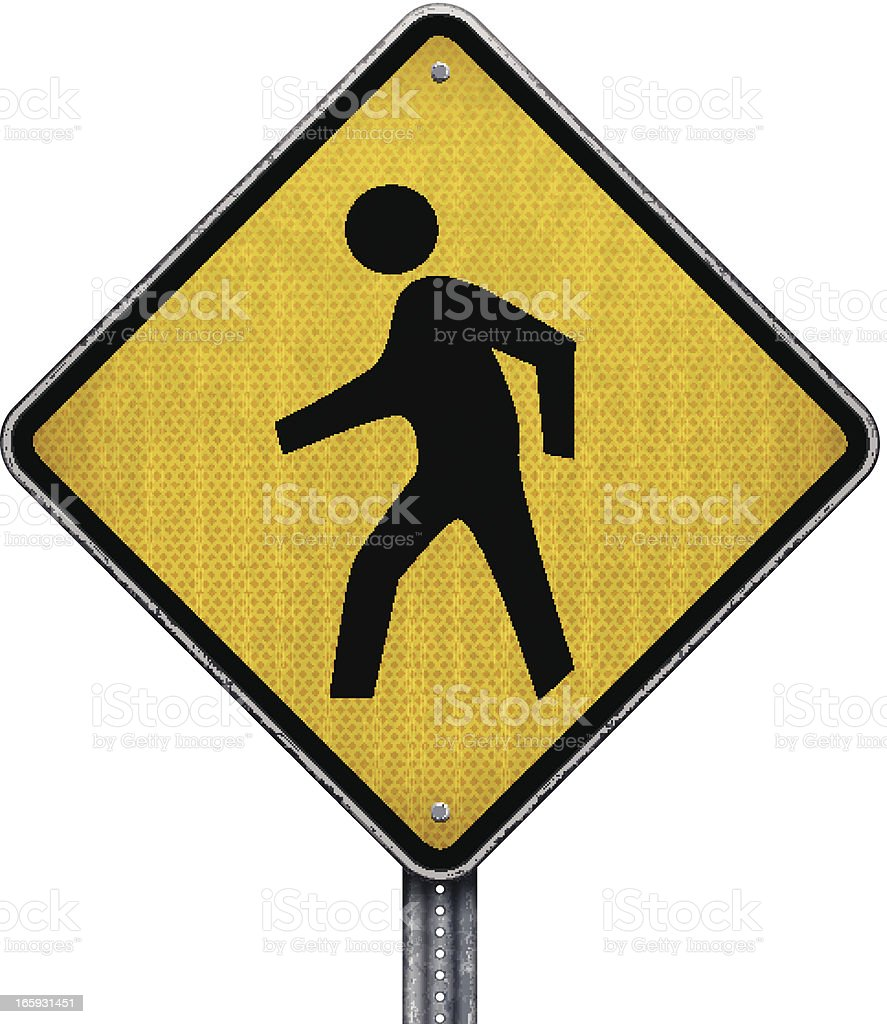 pedestrians crossing road sign royalty-free pedestrians crossing road sign stock vector art & more images of advice