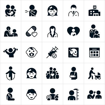 Pediatrics Icons