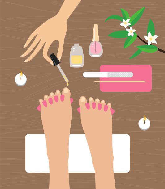 Pedicure Clipart: Top 60 Manicure Set Clip Art, Vector Graphics And