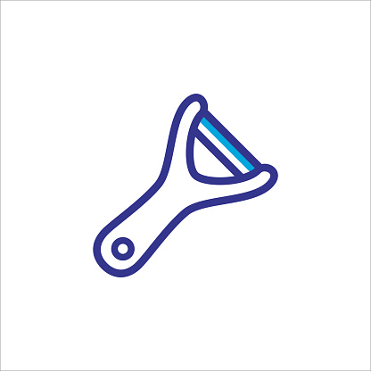 peeler icon vector design trendy