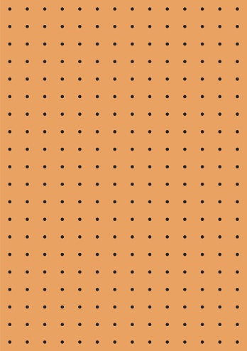 Peg board seamless pattern texture Perforated wall for tools background