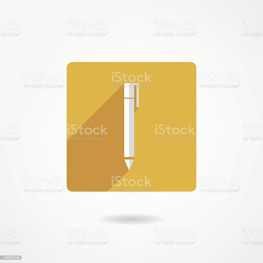 Pen icon royalty-free pen icon stock vector art & more images of backgrounds