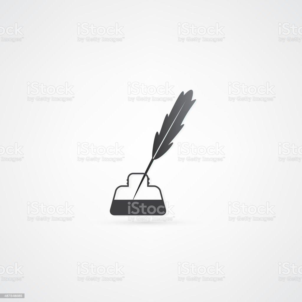 Pen icon royalty-free stock vector art