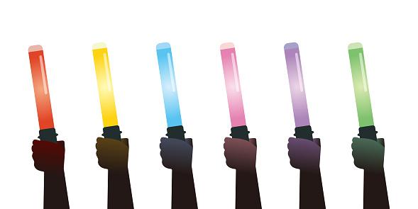 Pen light set