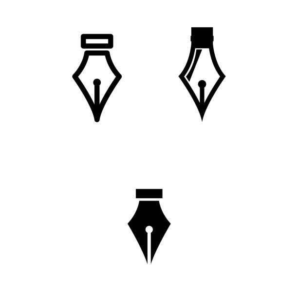 ilustrações de stock, clip art, desenhos animados e ícones de pen - caneta