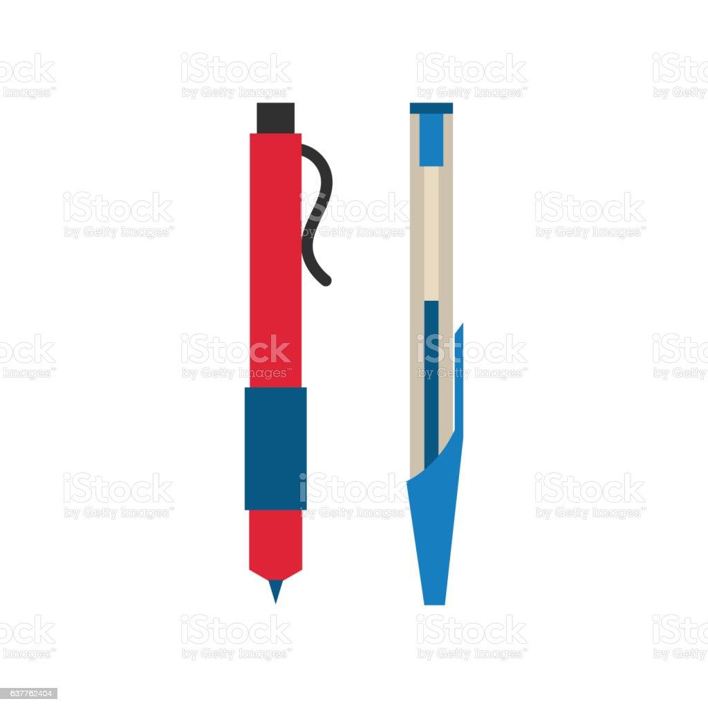 Pen vector illustration design. vector art illustration