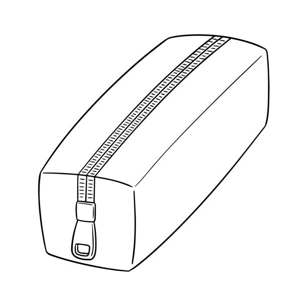 Best Cute Pencil Case Illustrations, Royalty-Free Vector ...
