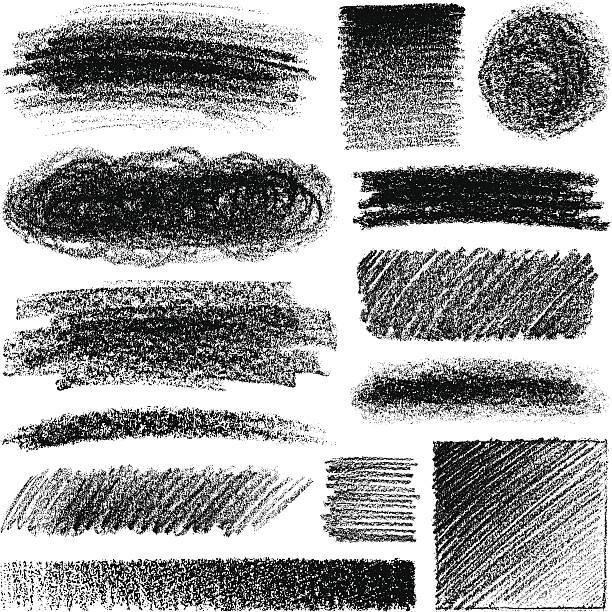 bleistiftzeichnung - kreide stock-grafiken, -clipart, -cartoons und -symbole