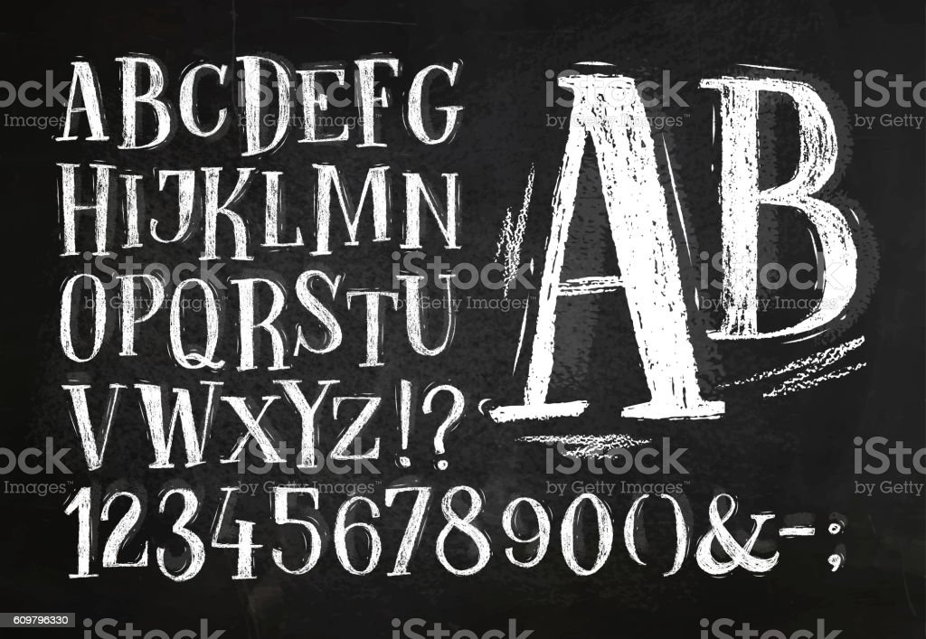 Pencil font alphabet royalty-free pencil font alphabet stock illustration - download image now