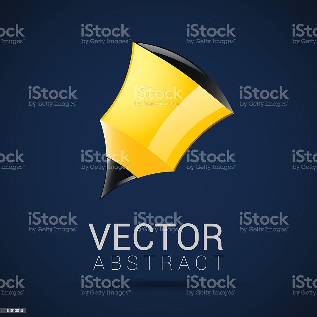 pencil icon geometric design in vector vector art illustration