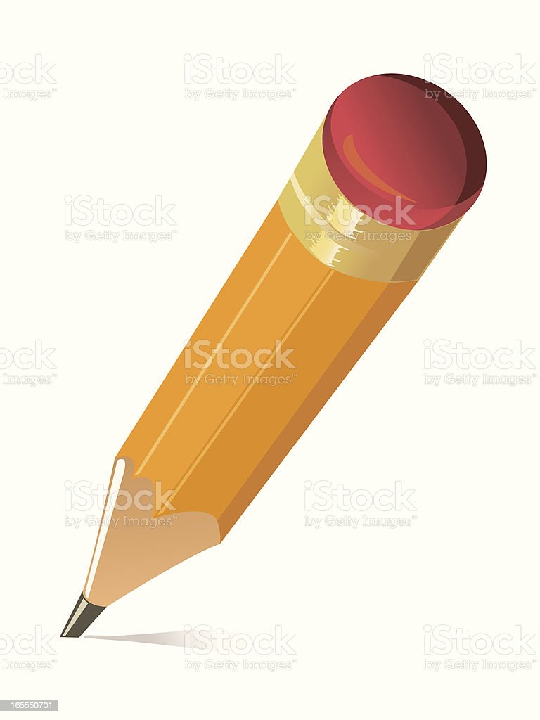 Pencil royalty-free pencil stock vector art & more images of business