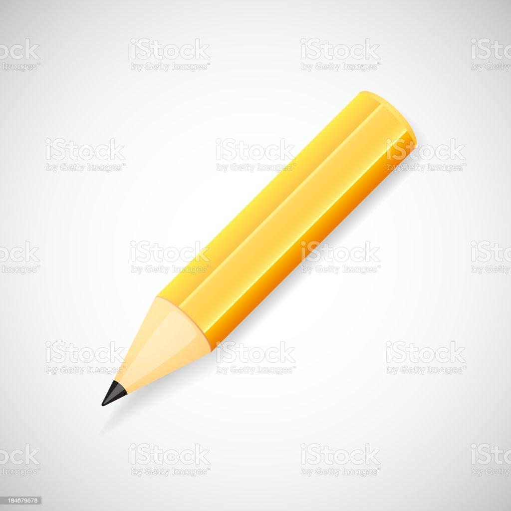 Pencil royalty-free stock vector art