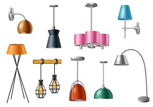 Pendant Lamps, Table Lamps, Floor Lamps, Lightings
