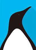 istock Penguin flat icon design, vector illustration 1141330913