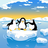 Penguin Global Warming