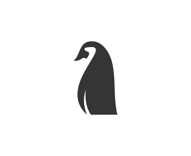 penguin icon - penguin stock illustrations