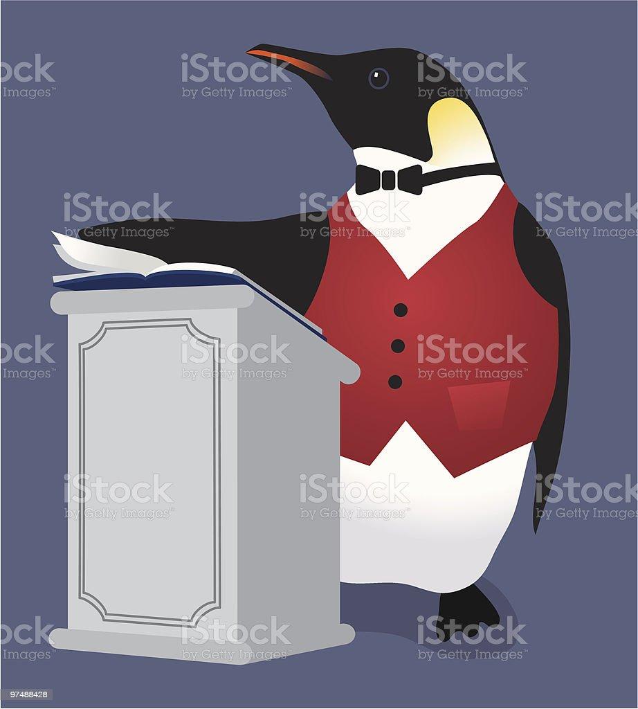 penguin maitre d royalty-free penguin maitre d stock vector art & more images of bird