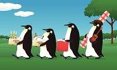 penguin picnic