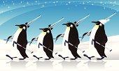 penguin ski