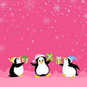 Penguins Exchange Gifts